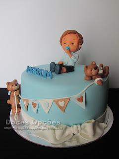 bolo batizado bragança doces opções