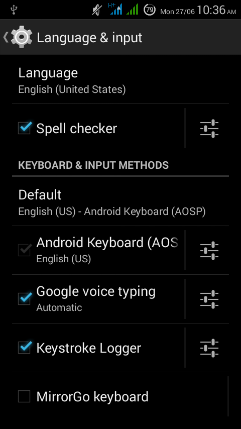 Best Keylogger For Android, free and no root needed : Get a record