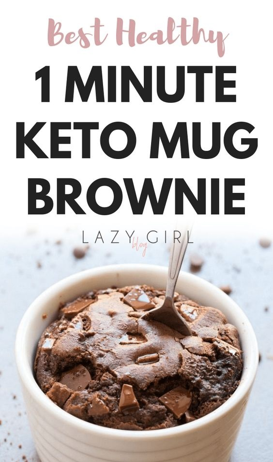 Keto Mug Brownie