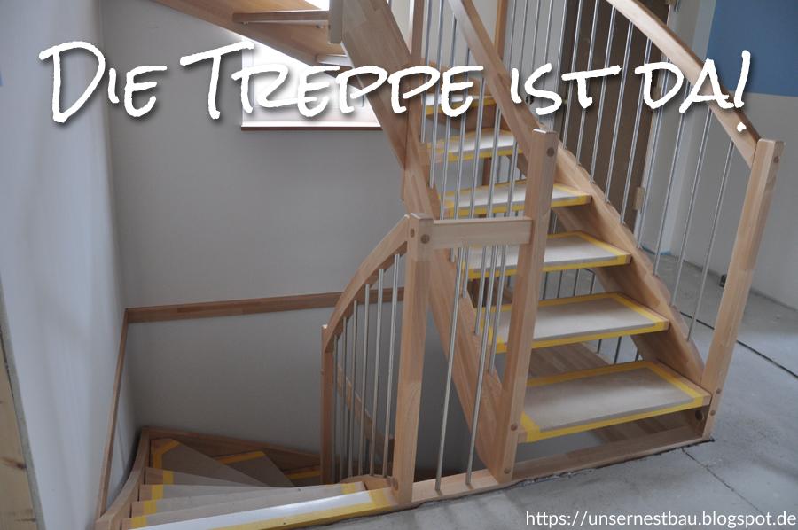 Super Unser Nestbau: Die Treppe ist da! ON45