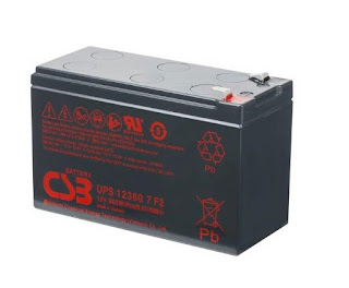Ắc quy CSB 12V 7Ah, UPS123607
