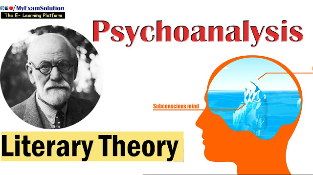 psychoanalysis, english literarature, ugc net jrf, literary criticism, myexamsolution