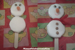 muñeco-de-nieve-bandeja-poliespan-marioneta