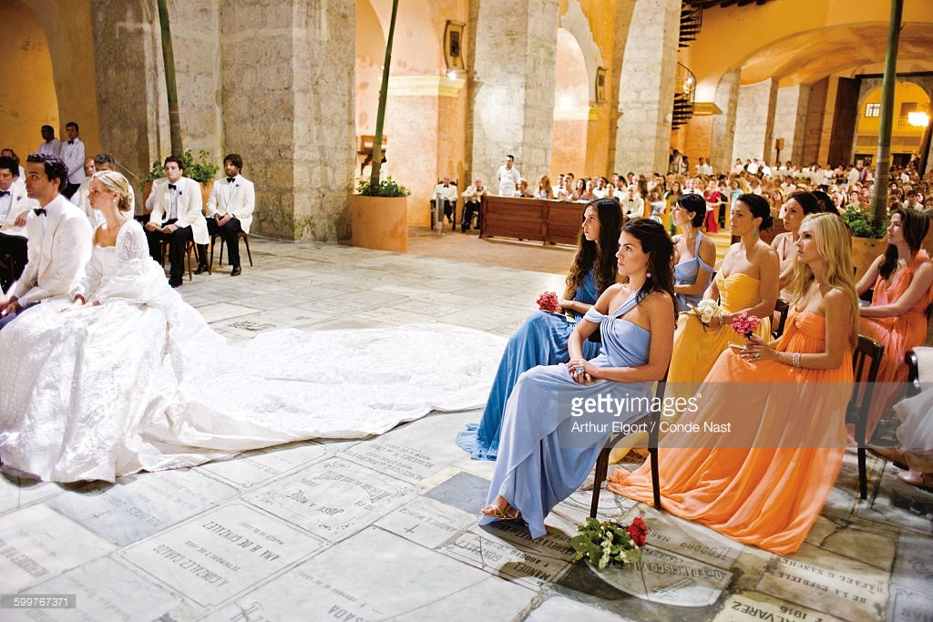 Yes The Santo Domingo Wedding Was Literally Speaking One For Books Vogue Chose Lauren Domino Cover Of Its Book
