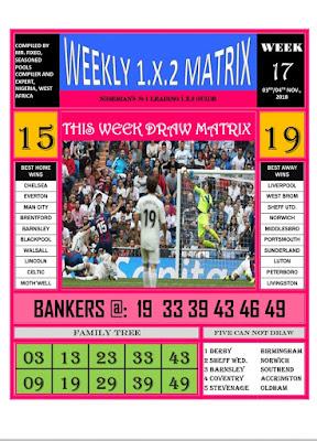 Weekly Matrix - Page 1