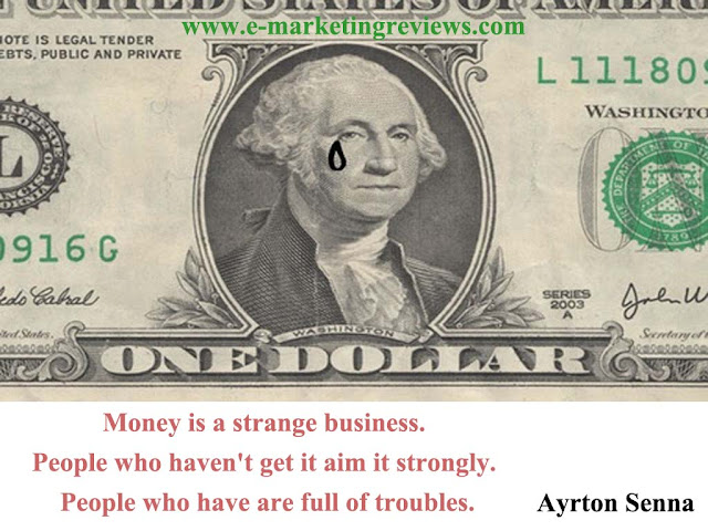 the relation between money and troubles