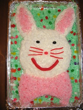 Easter bunny cakes - photo 3