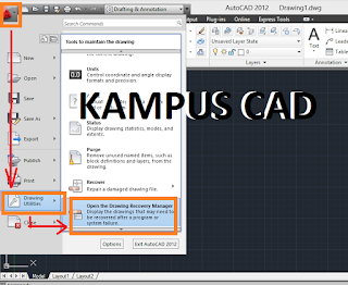 RECOVERY AUTOCAD