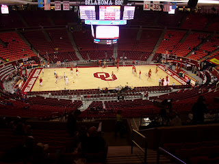 NCAA Oklahoma Iowa State Game