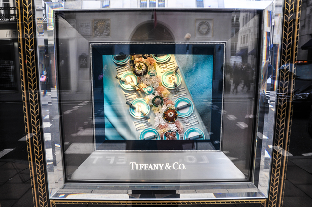 Tiffany's Holiday Windows 2016 in London