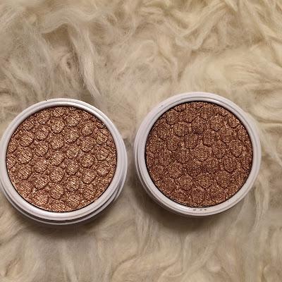 colour pop eyeshadows lala vs amaze
