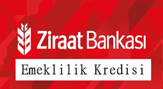 Ziraat Bankası Emeklilik Kredisi