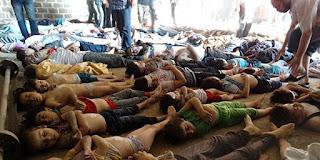 Flashback, 1.300 Muslim Suriah Tewas Akibat Serangan Syiah dengan Gas Beracun