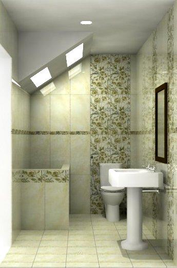 model kamar mandi simple