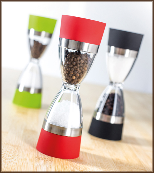 Dual Grind Salt and Pepper Mill