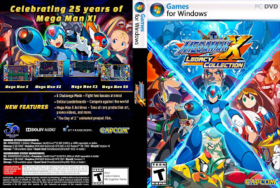 Jogo Mega Man X Legacy Collection PC DVD Capa