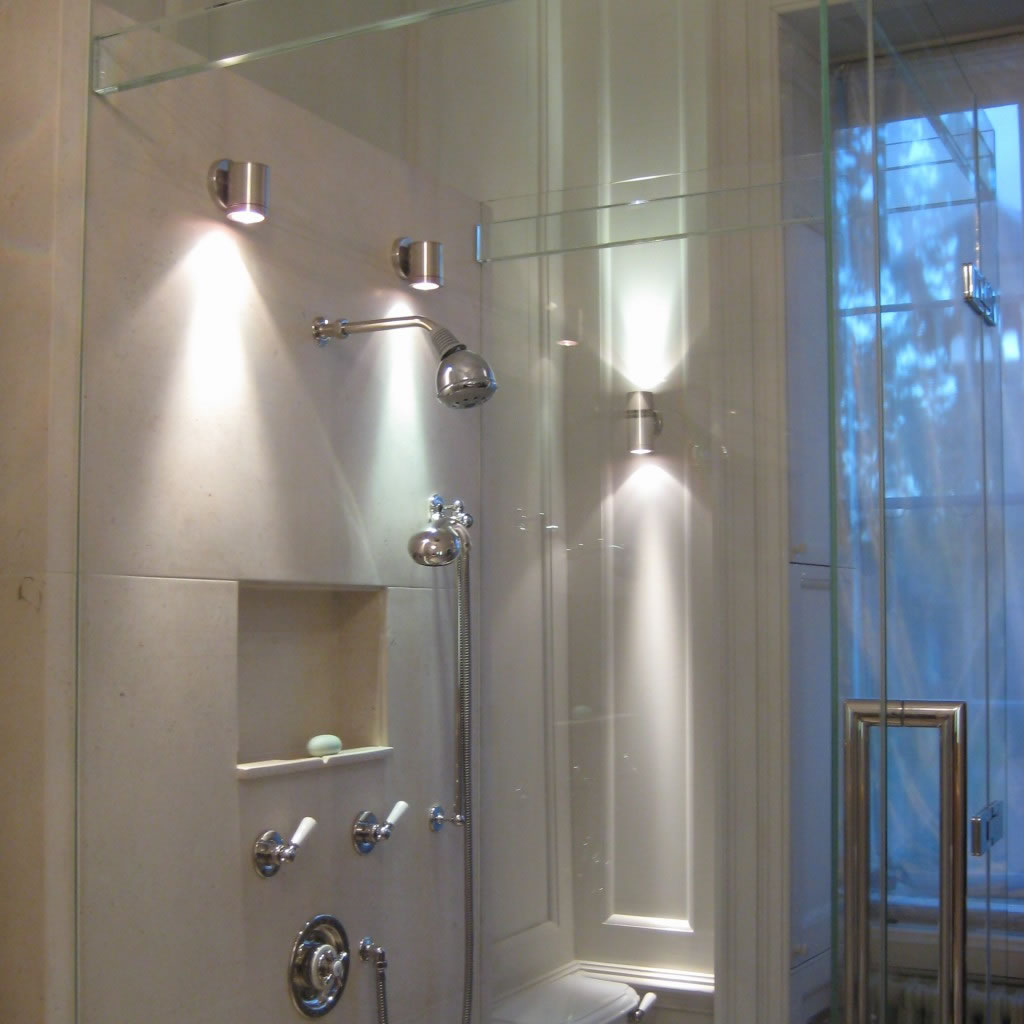 Finding life balance Cool bathroom lighting ideas