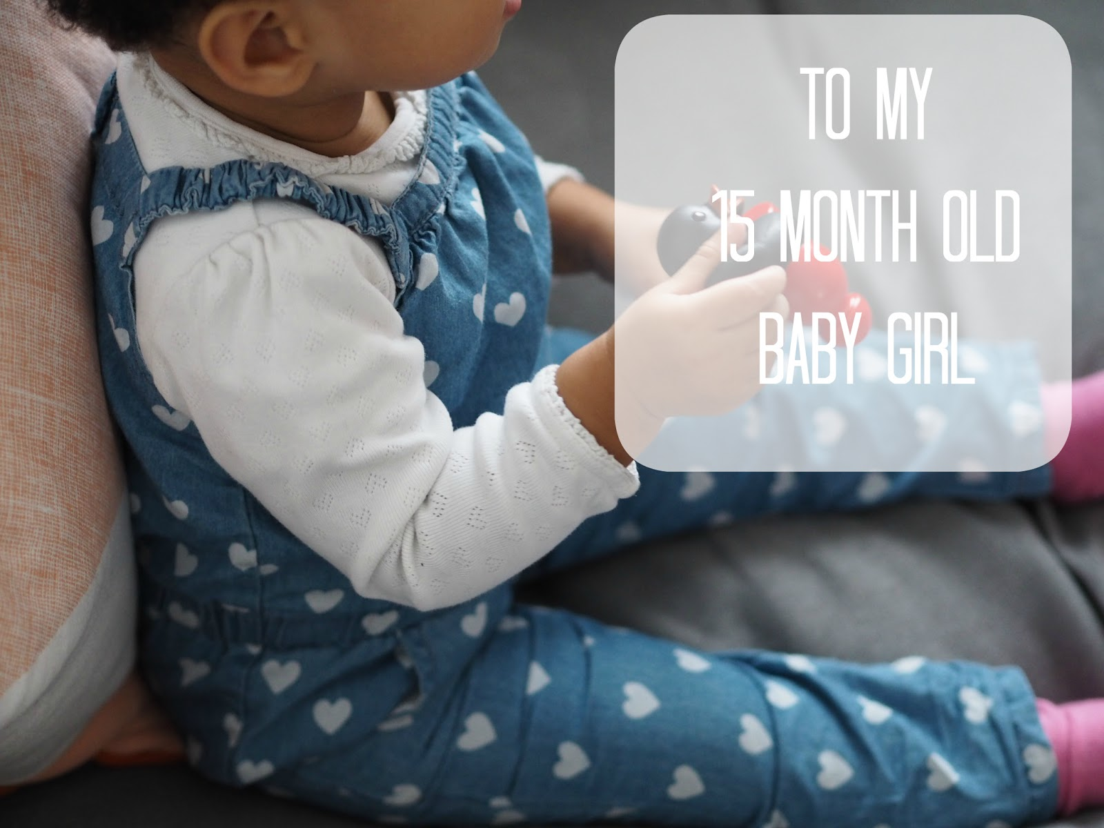 You amaze me every single day with your thirst for learning and developing  abilities. You are the chatiest 15 month old ...