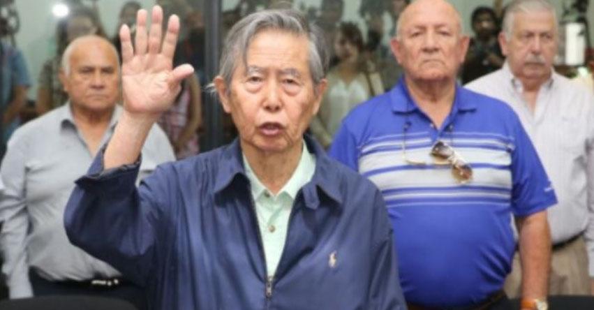 ALBERTO FUJIMORI: Dejan sin efecto indulto y ordenan su captura [ÚLTIMO MINUTO]