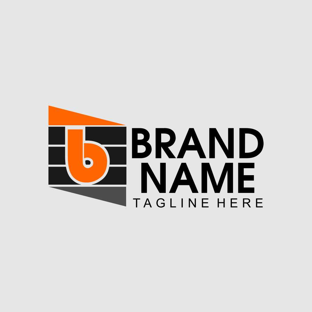 Letter B Line Graded Logo Template Free Download Vector CDR, AI, EPS and PNG Formats