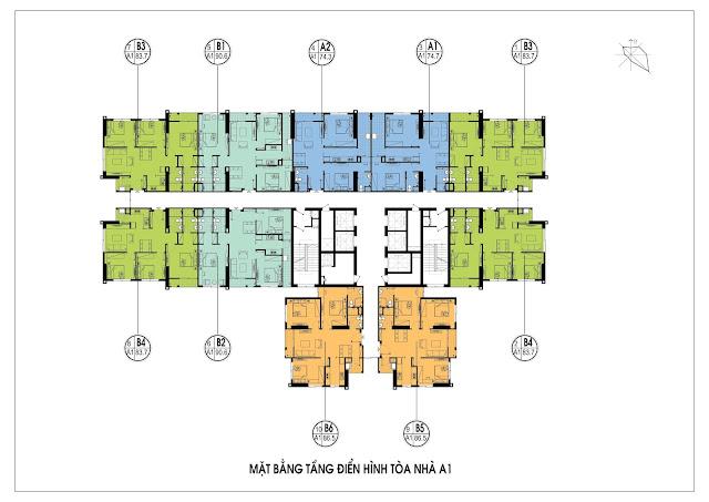 Thiết kế mặt bằng căn hộ An Bình City Phạm Văn Đồng
