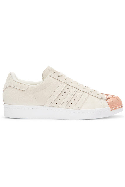 Adidas Superstar 80's rose gold - 130€ - NETAPORTER
