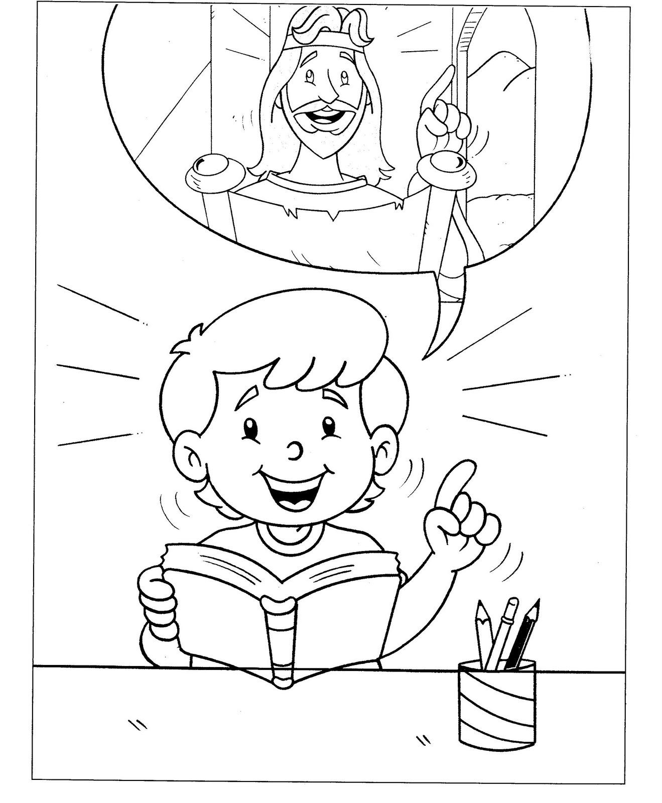 Graca E Paz Kids Desenhos Para Colorir A Biblia