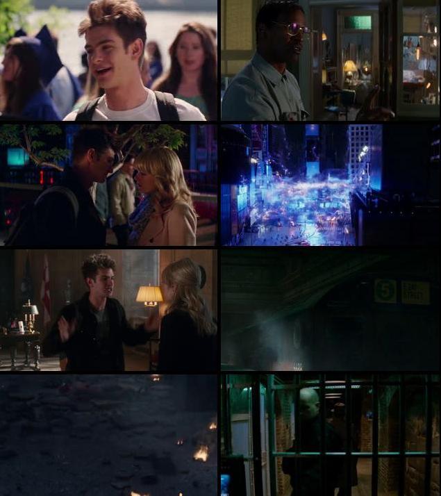 The Amazing Spider-Man 2 2014 Dual Audio Hindi 480p BluRay