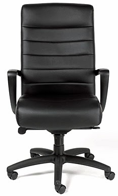 Manchester Leather Office Chair by Eurotech