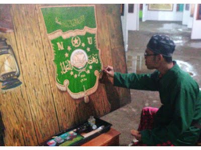 Pameran Seniman Lukisan dan Kaligrafi Nasional di MUNAS dan KONBES NU