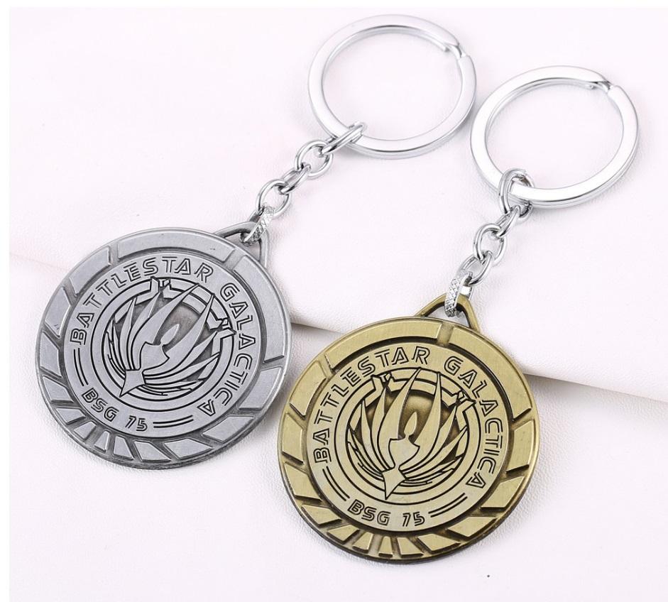 Bloodborne Keychain Keyring Metal Pendant Key Ring Chain Logo PS4 Cosplay ♫
