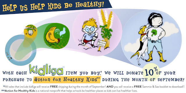 kidliga help kids be healthy