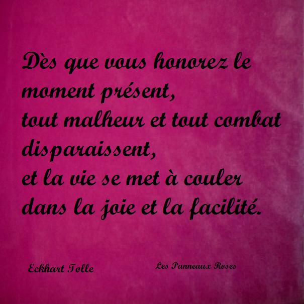 La Page De La Sagesse Citation D Eckhart Tolle Sur Le