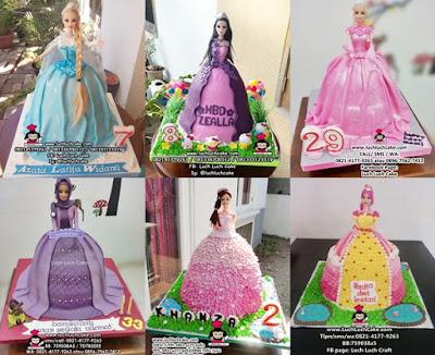 barbie kue tart cake