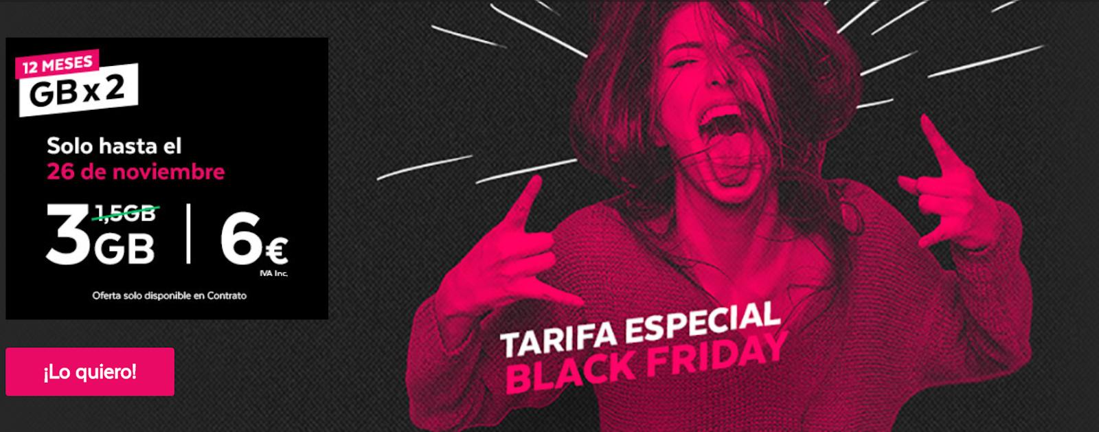 Black Friday Tuenti