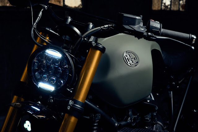 BMW R Nine T By Ad Hoc Cafe Racers Hell Kustom