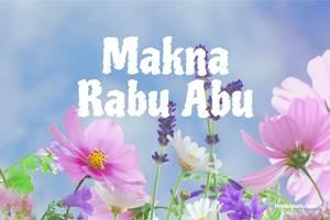 Makna Rabu Abu