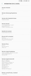 Galaxy Note 8 Android Oreo Update