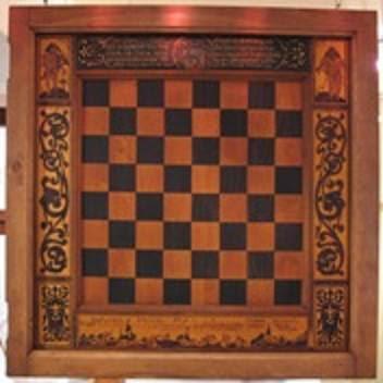 Tablero de ajedrez del Große Kurfürst Friedrich Wilhelm von Brandenburg