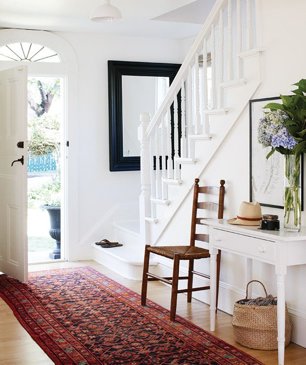 entryway  - Deb Nelson Decorator and Stylist.
