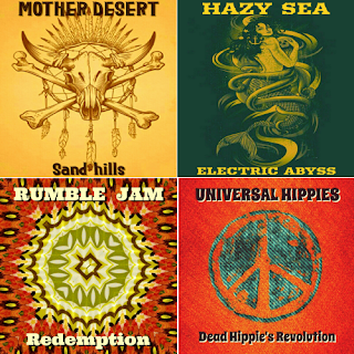 mother desert, hazy sea, rumble jam, universal hippies