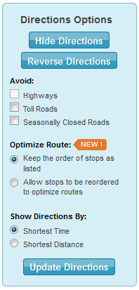 Mapquest Classic: MapQuest Classic Directions