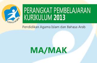 RPP Bahasa Arab Madrasah Aliyah Kurikulum 2013
