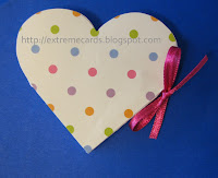 conversation heart circle card