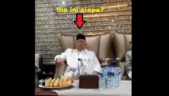 Padahal Ikut Hadir, Ma'ruf Amin Sebut Video 'Tak Ada Zikir di Istana' Hoaks
