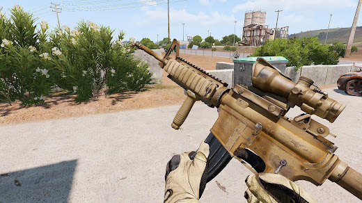 Arma3にグリップ追加MOD