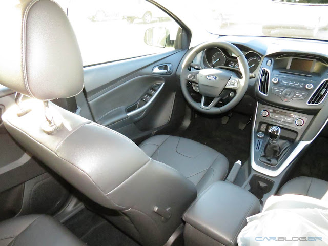 Novo Focus 2016 1.6 SE Plus - interior