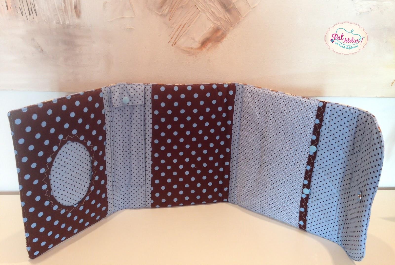 7c75c01a6 Pat Atelier - Costura Criativa/Chinelos Customizados: Necessaire ...