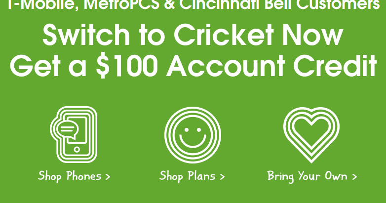 CRICKET PROMO CODES FOR EXISTING CUSTOMERS