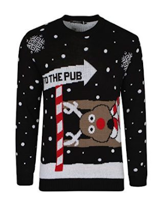 To The Pub Christmas Jumper